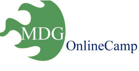 Bericht vom MDG OnlineCamp  2015